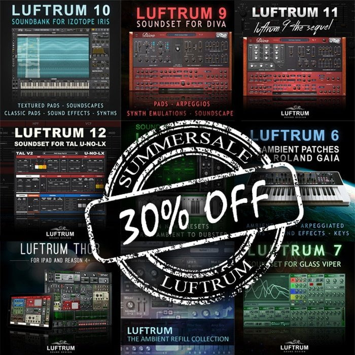 Luftrum Summer Sale