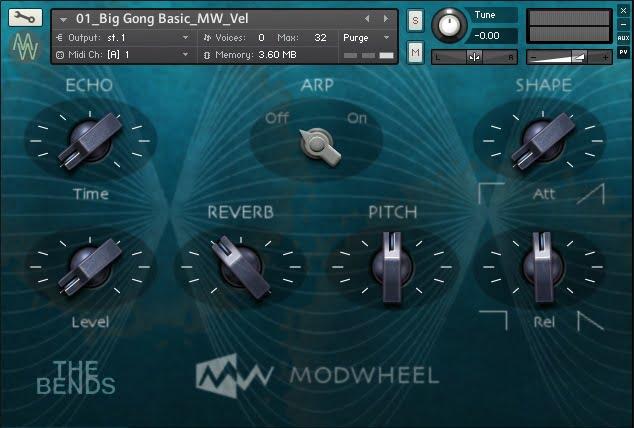 Modwheel The Bends