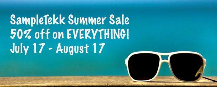 SampleTekk Summer Sale 2015