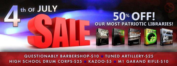 Soundiron 4th of July Sale