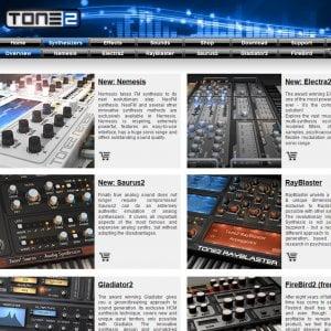 Tone2 synths