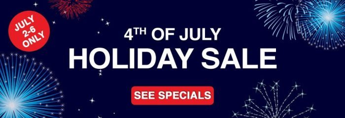 Waves 4th of July Sale