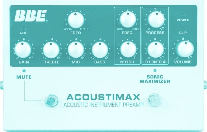 BBE Acoustimax + Sonic Maximizer