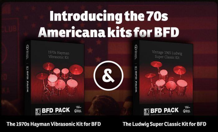 Drumdrops Americana kits fpr BFD
