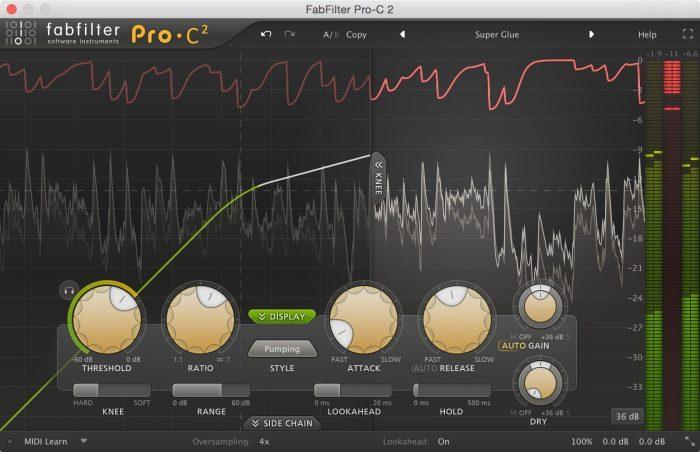 FabFilter Pro-C 2 (No EQ)