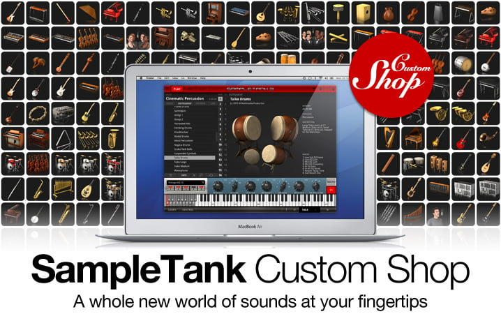 IK Multimedia  SampleTank 3 Custom Shop
