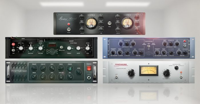 Positive Grid Studio Racks Pack