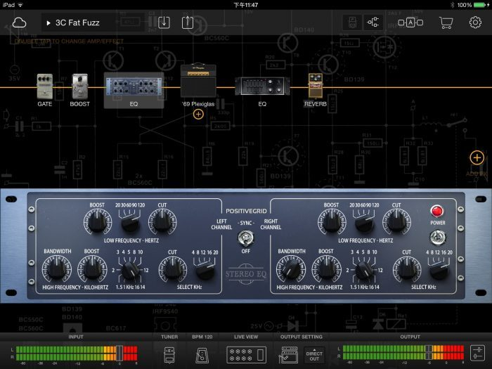 Positive Grid Studio Racks Pack Stereo EQ