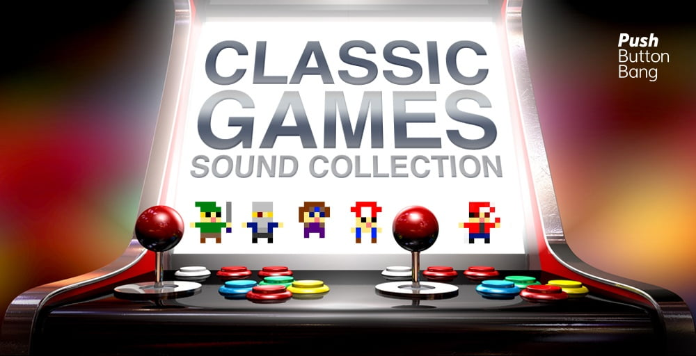 Push button bang classic games sound collection released for Classic house sample pack