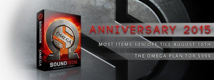 Soundiron Anniversary sale