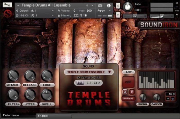 Soundiron Temple Drums