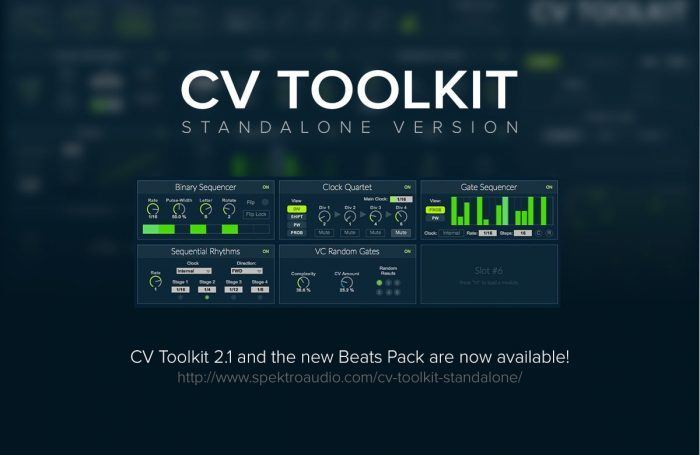 Spektro Audio CV Toolkit 2.1