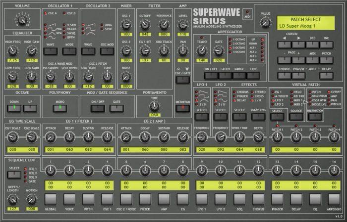 Superwave Sirius