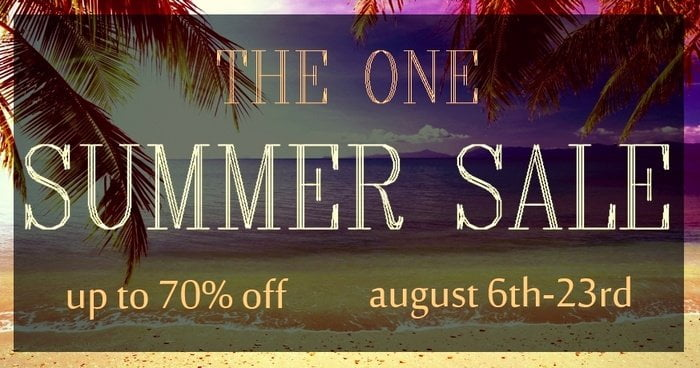 THE ONE Summer Sale