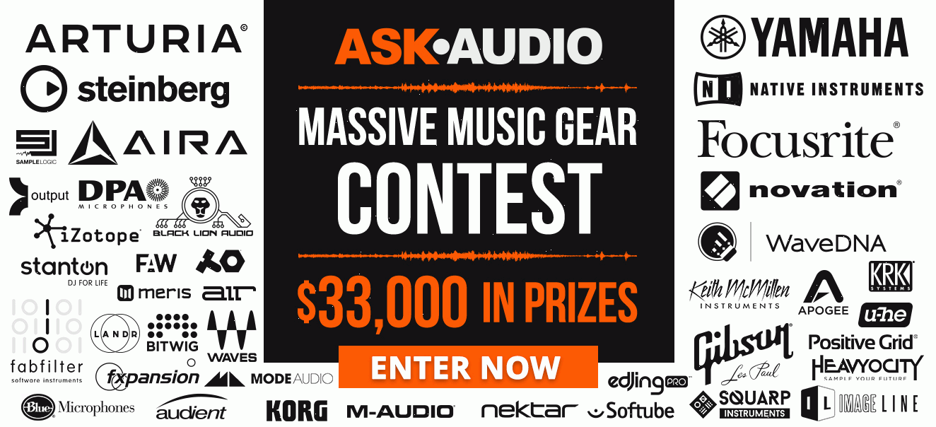 Ask Audio Music Gear Giveaway
