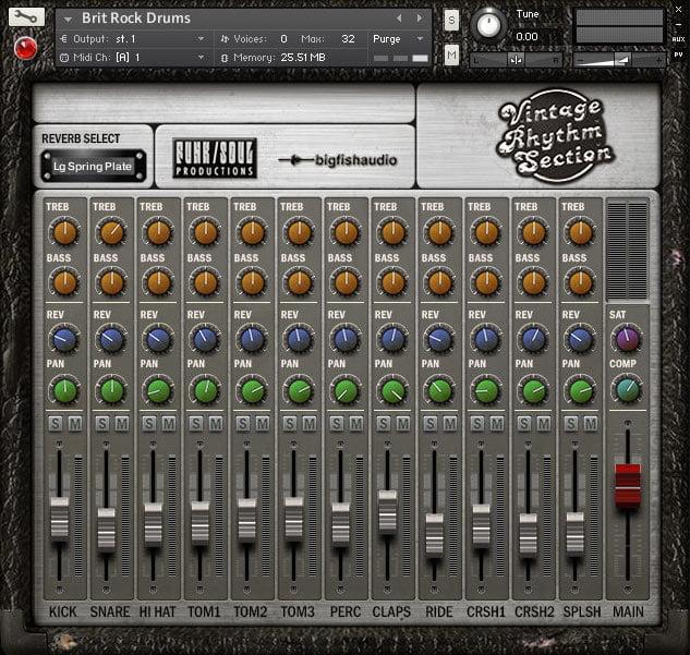 Big Fish Audio Vintage Rhythm Section