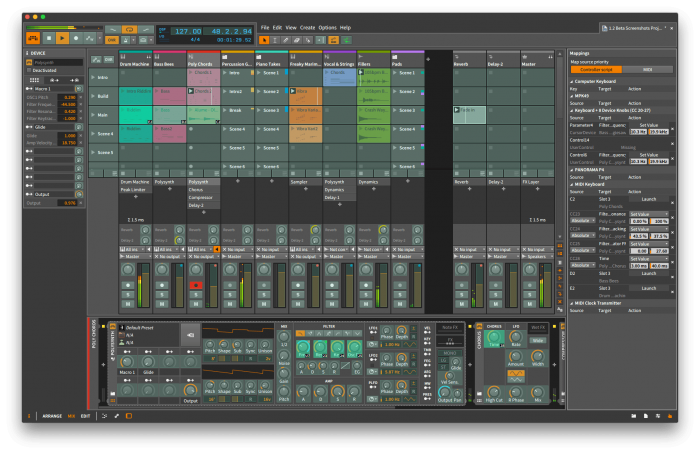 Bitwig Studio 1.2 Mapping