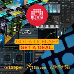Bitwig Studio cross deal