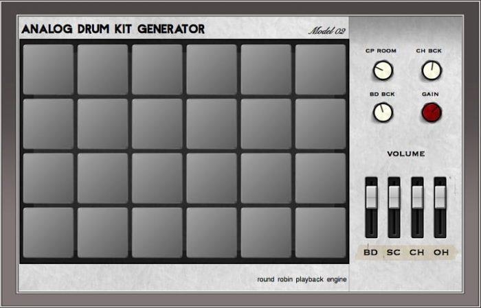 Greynote Music Analog Drum Kit M02