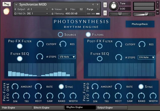 Jeremiah Pena Photosynthesis Vol 2 rhythm