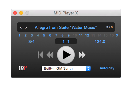 MethodRed MIDIPlayer X v2.0 screenshot