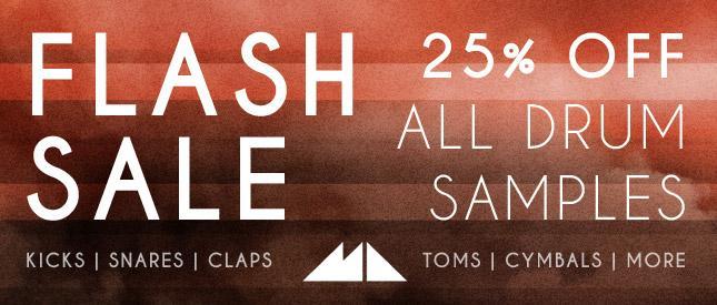 ModeAudio Drum Samples flash sale