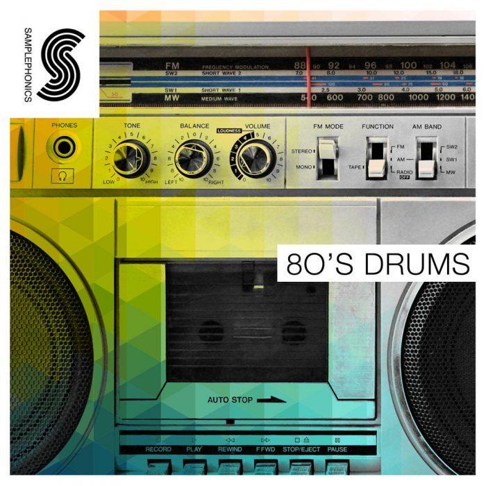 Samplephonics 80's Drums
