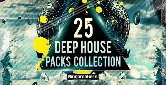 Singomakers 25 Deep House Packs Collection