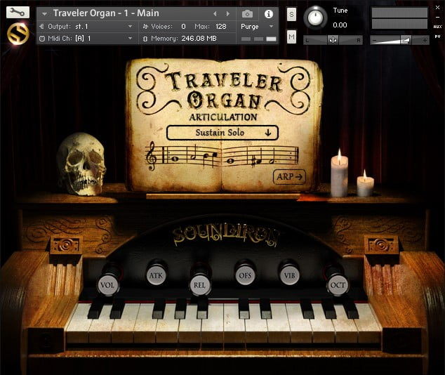 Soundiron Traveler Organ
