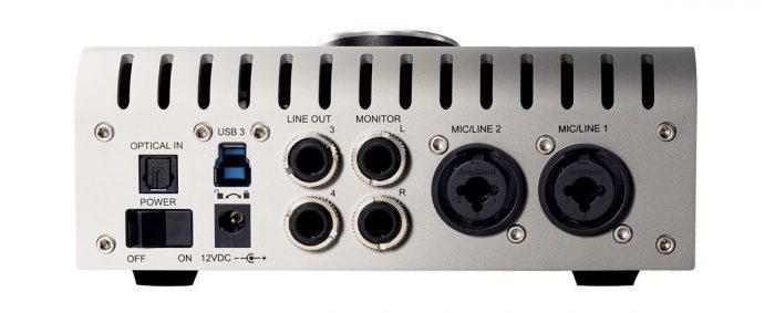 Universal Audio Apollo Twin USB back