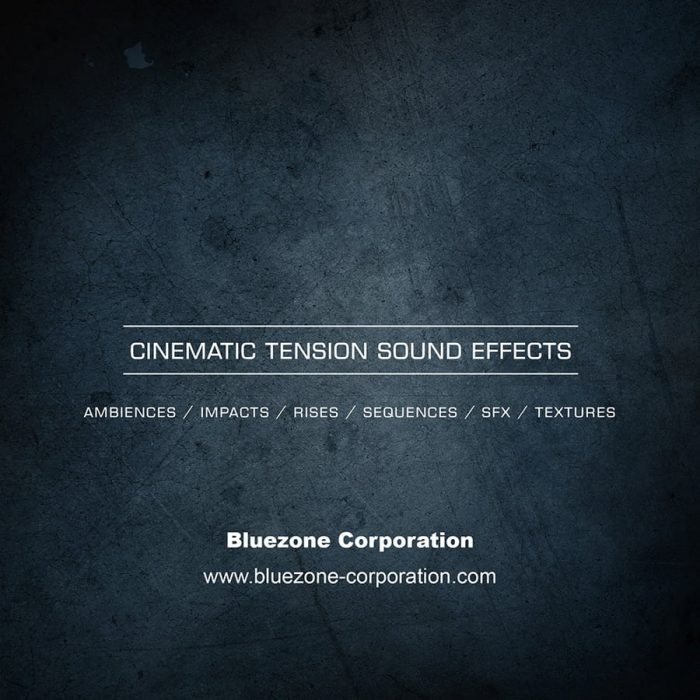 Bluezone Cinematic Tension Sound Effects