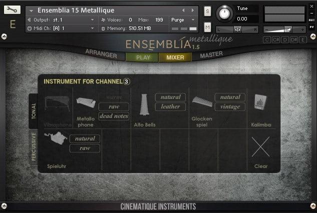 Cinematique Instruments Ensemblia Metallique 02