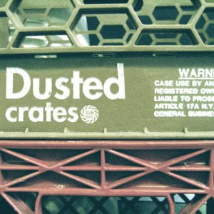 Drum Broker Dusted Crates