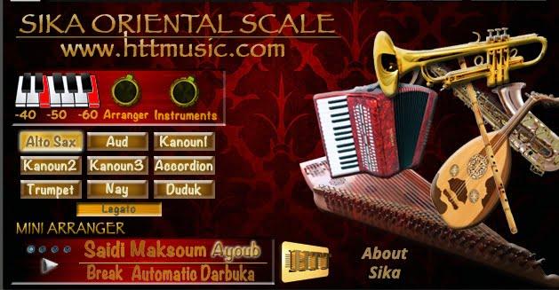HTT Sika Oriental Scale