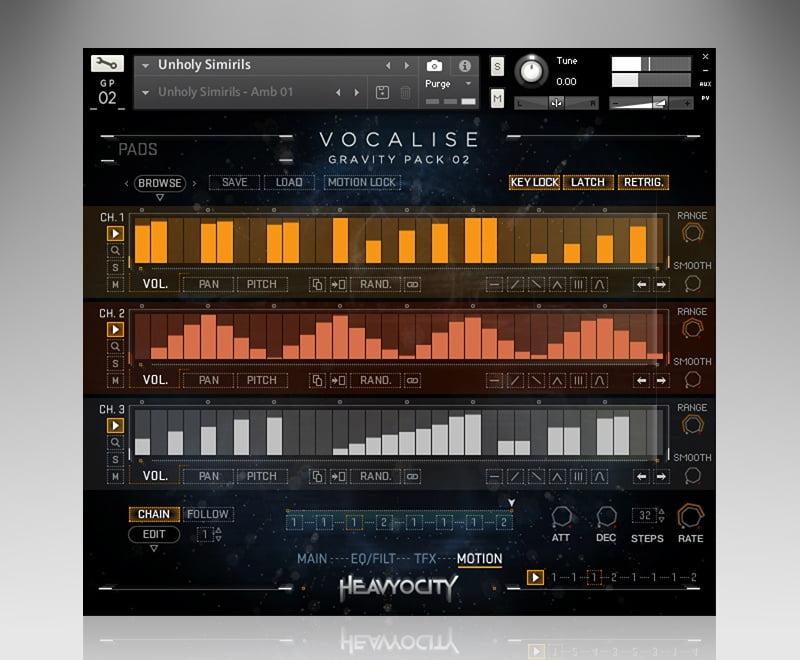 Heavyocity Vocalise motion