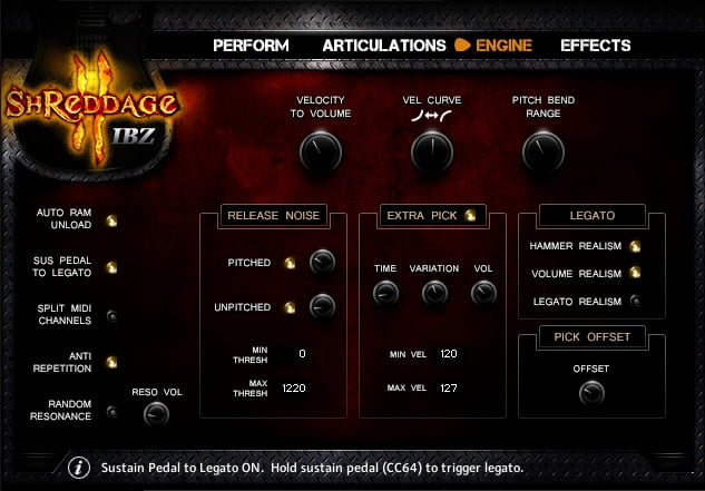 Impact Soundworks Shreddage 2 IBZ engine