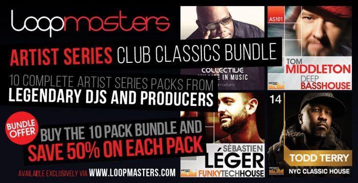 Loopmasters Artist Series Club Classics Bundle
