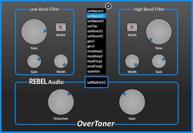 Rebel Audio Overtoner