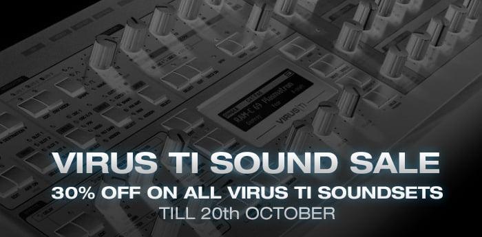 Resonance Sound Virus TI Sound Sale