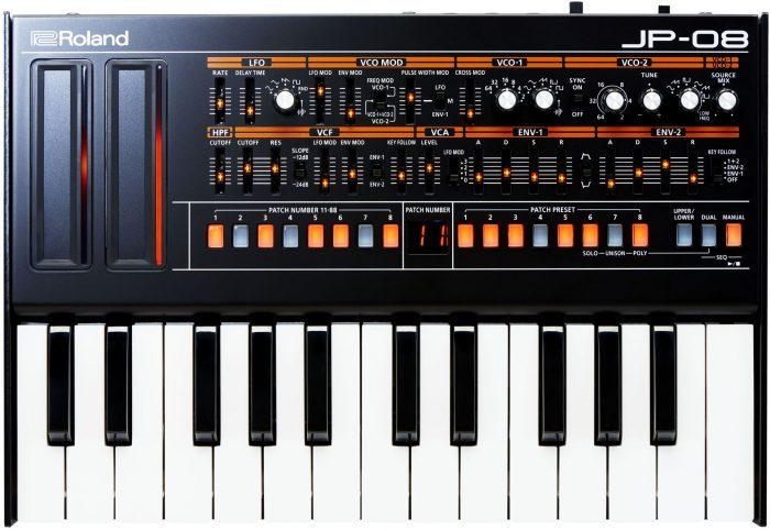 Roland JP-08 keys