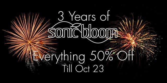 Sonic Bloom 3 years sale