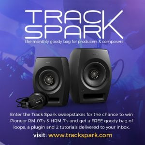 Track Spark Pioneer prizedraw