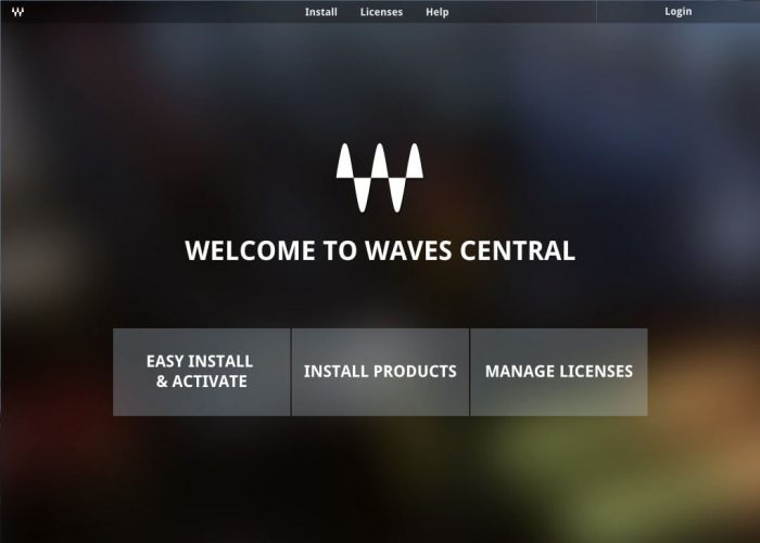 Waves Central