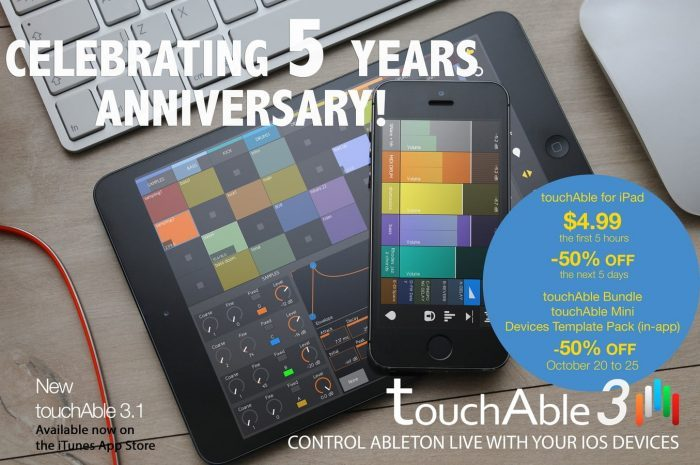 Zerodebug touchAble 5 year birthday