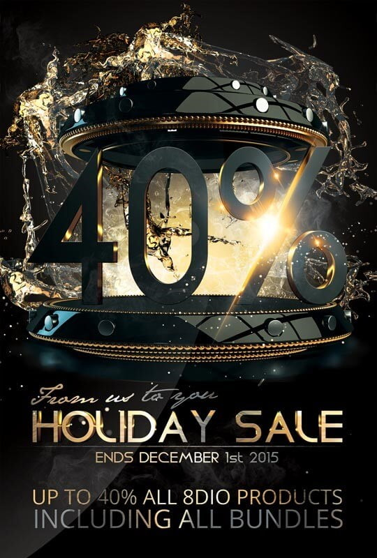 8Dio Holiday Sale