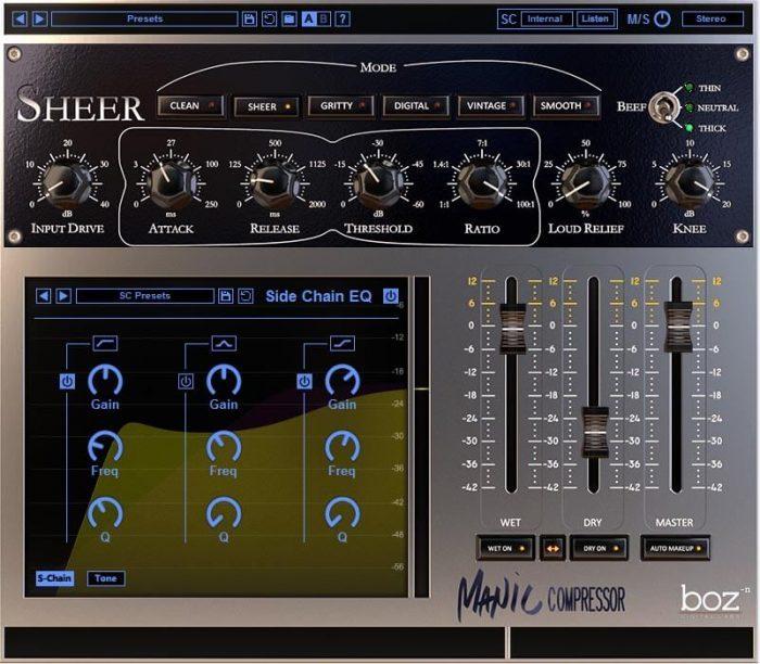 Boz Digital Labs Manic Compressor Sheer