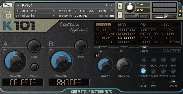 Cinematique Instruments K 101