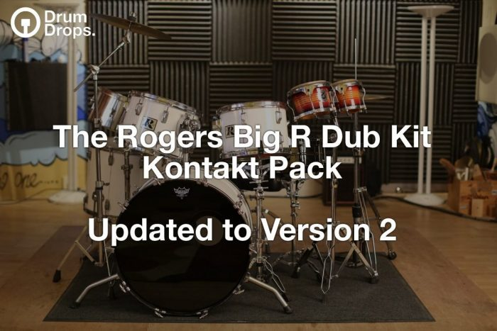Drumdrops Rogers Big R Dub Kit Kontakt Pack