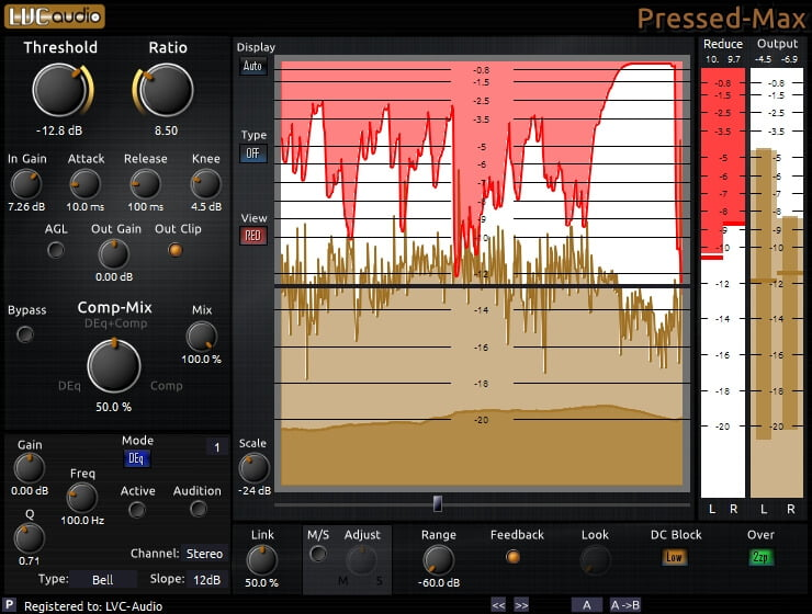 LVC-Audio Pressed-MAX