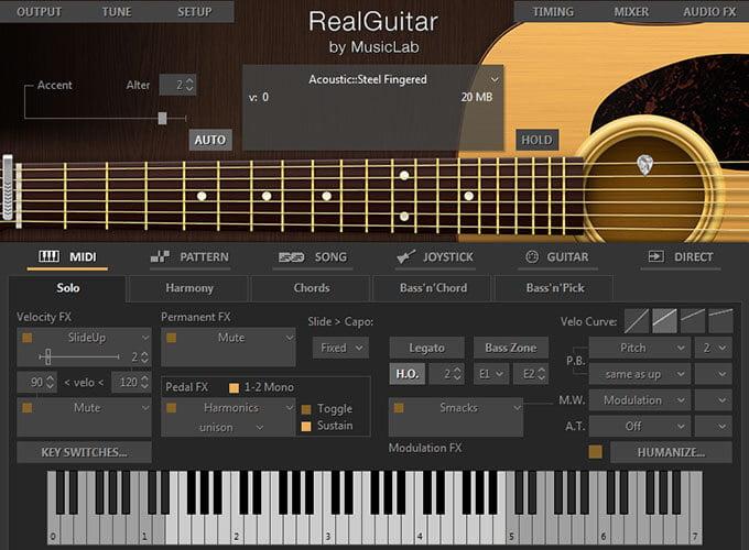 MusicLab RealGuitar 4.0